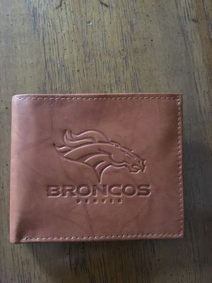 Denver Broncos Wallet for Sale in Denver, CO