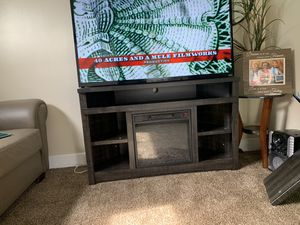 Fire place tv stand brand new from {url removed} $275firm for Sale in Cleveland, OH