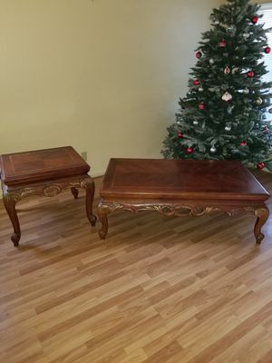 BEAUTIFUL COFFEE TABLE + SIDE TABLE for Sale in Las Vegas, NV