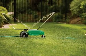 Traveling Sprinkler Raintrain Garden Tractor Sprinkle for Sale in Charlottesville, VA