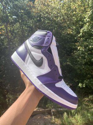 Jordan 1 Court purple for Sale in Mableton, GA