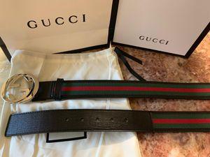 Gg black signature belt for Sale in Sunnyvale, CA