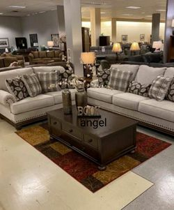 🎁BRAND NEW 🎗Harleson Wheat Living Room Set for Sale in Laurel,  MD