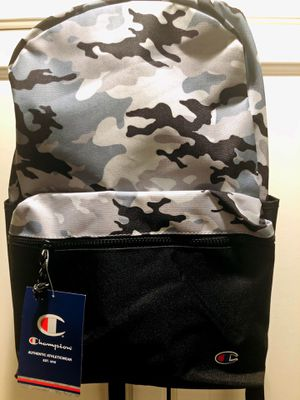 New Champion Black/Camo Backpack. for Sale in Huntington Beach, CA