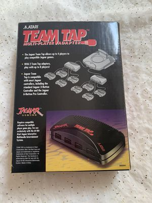 Atari Jaguar Team Tap 4 Muti - Player Game Console Adapter 64- BIT for Sale in Chino Hills, CA