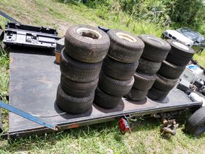 20 used golf cart rims and tires for Sale in Ruskin, FL