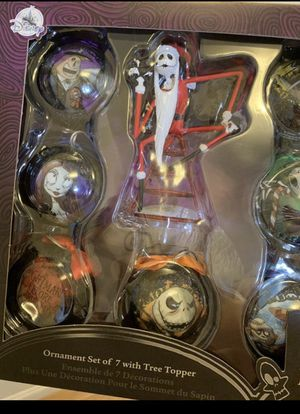 Nightmare Before Christmas Ornament Set for Sale in San Leandro, CA
