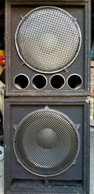 Passive Subwoofer B-52 15 inch for Sale in Hyattsville, MD