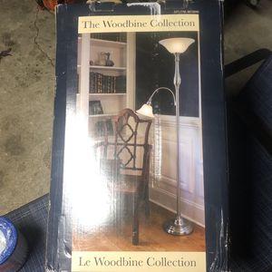 Floor Lamp With Side Light for Sale in Newport News, VA