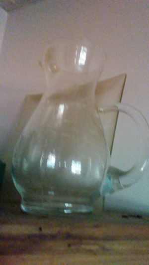Glass pitcher for Sale in Dixon, MO