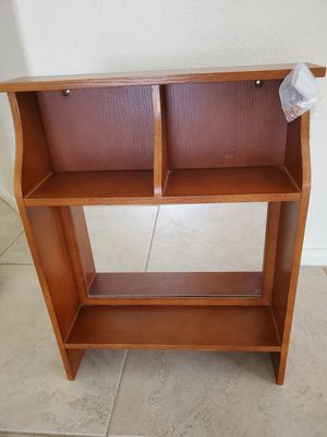 Wall shelves with mirror and hooks for Sale in Henderson, NV