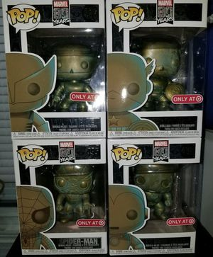Funko Pop Marvel 80 years set of 4 for Sale in South Gate, CA