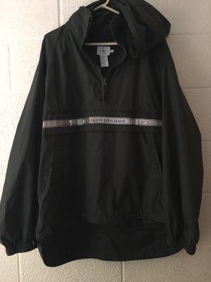 CALVIN KLEIN JEANS Green Rain Coat Jacket Size XL for Sale in North Las Vegas, NV