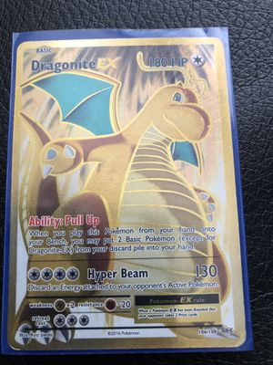 Dragonite Ex Basic Pokemon Card Holo for Sale in Ceres, CA