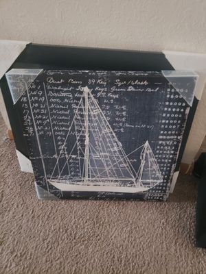 Sailboat wallhanging for Sale in Big Lake, MN