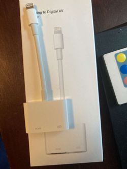 Apple lightning adapter for Sale in Federal Way,  WA