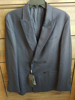 Massimo Dutti Suit Jacket Sport Coat Men's Navy Formal Suit Jacket for Sale in Kent,  WA