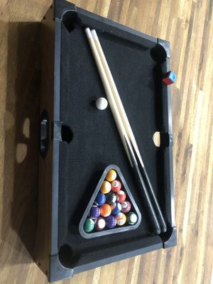 Tabletop pool game for Sale in Phoenix, AZ