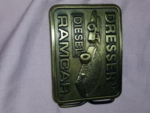 Antique Dresser Diesel Belt Buckle for Sale in Gastonia, NC