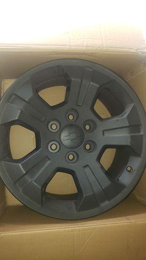 Chevy Rims Matte Black for Sale in Perris, CA
