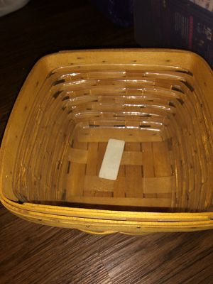 Longaberger basket for Sale in Dallas, GA