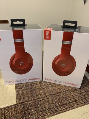 Beats studio 3 wireless headphones 🎧 NEW ( seal box unopened) latest model $220 for EACH FIRM for Sale in Carmichael, CA