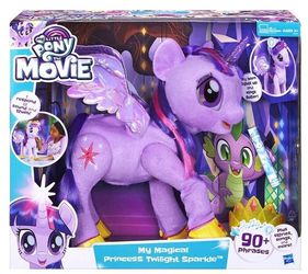 My Little Pony The Movie My Magical Princess Twilight Sparkle Figure HASBRO TOYS for Sale in Orangevale,  CA