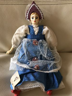 Antique ethnic porcelain and cloth doll for Sale in Silver Spring, MD