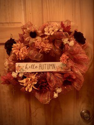 Fall wreath for Sale in Brooklyn, NY