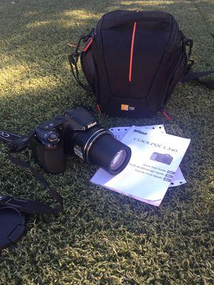 NIKON COOLPIX L340 digital camera+camera case for Sale in La Mesa, CA