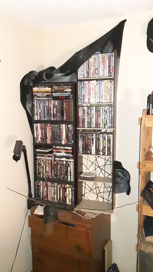 Dvd/ cd/games stand. Each holds over 100 of each for Sale in Fullerton, CA
