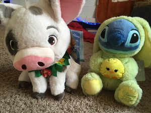 Pua stuffed animal , stitch (Easter version) stuffed animal for Sale in Manor, TX