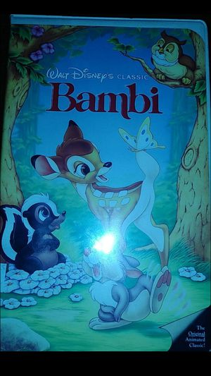 Disney classic Bambi VHS for Sale in Chandler, AZ