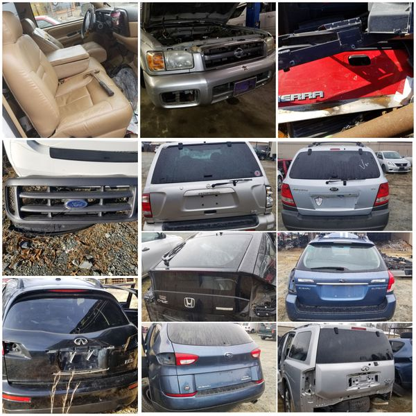 Auto parts Audi Subaru Suzuki Infiniti and moor