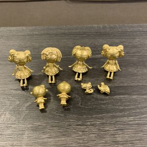 Lalaloopsy Minis GOLD Limited Edition Set for Sale in Miami, FL