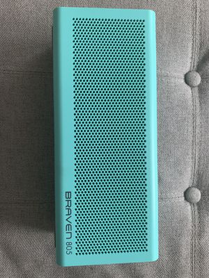 Braven Bluetooth speaker, turquoise, almost new for Sale in Dana Point, CA