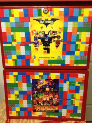 Lego play station with two drawers for Sale in Hammonton, NJ