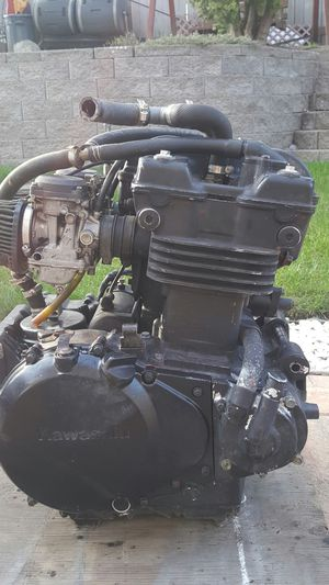 Motorcycle kawasaki ex 500 motor for Sale in Federal Way, WA