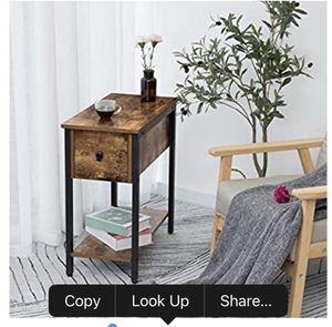 Oak side table for Sale in La Puente, CA