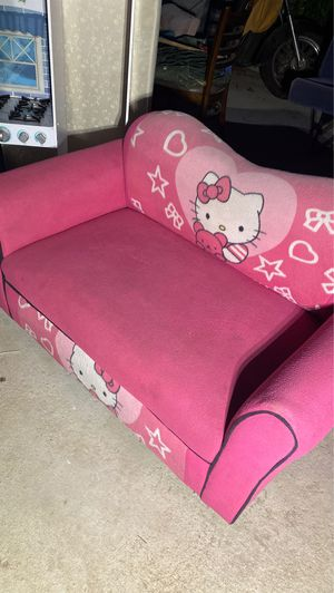 Hello kitty pink couch extender for kids room for Sale in Commerce, CA