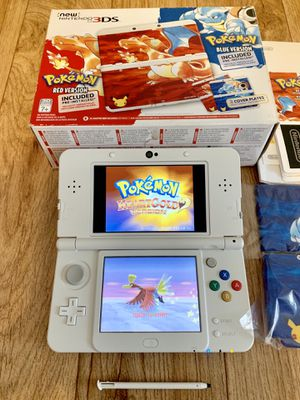 Limited edition Nintendo new 3DS 180+ games 64GB memory card for Sale in Los Angeles, CA