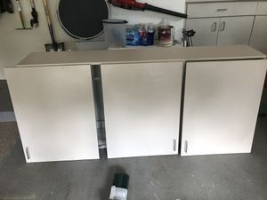 Storage Cabinets (doors are disconnected in picture) for Sale in Pompano Beach, FL