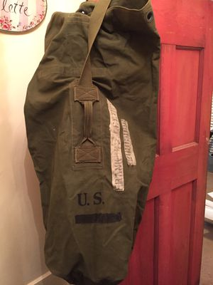 Vintage military duffle bag for Sale in White Plains, NY