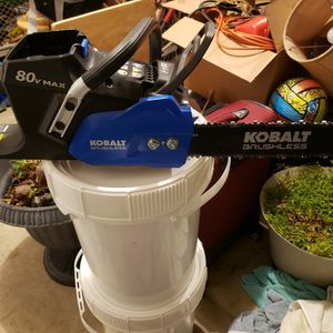 KOBALT 80V CHAIN SAW for Sale in Chapin, SC