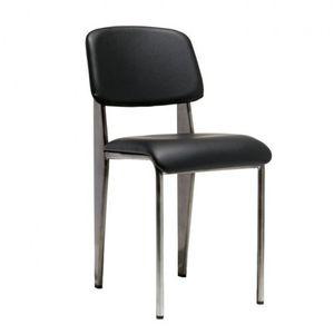 BRASS High End Designer Restaurant Chair Black Vinyl Seat And Back MODIST Brand for Sale in El Monte, CA