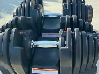Bowflex SelectTech 1090 Dumbbells Weights Pair DumBbell 10-90lbs for Sale in Chicago,  IL