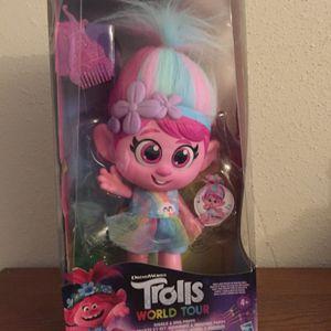 Discontinued Trolls Poppy Sings Giggles for Sale in Westwego, LA