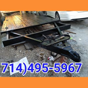 Car Trailer hauler great condition 16by6.5 Pink slip on hand perm registration for Sale in Baldwin Park, CA