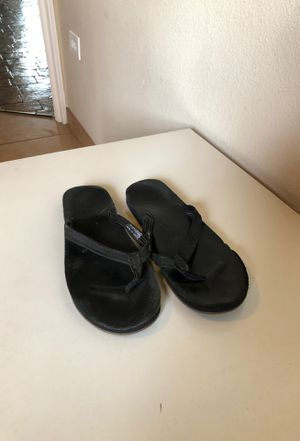 UGG black leather sandals for Sale in San Diego, CA