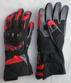 Motorbike Red TPU gloves All Sizes for Sale in Austin, TX